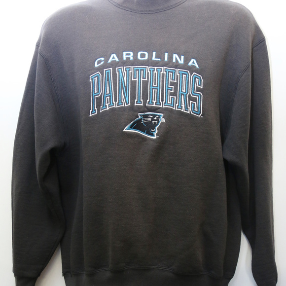 Top Pro Player Shirts | 90s Vintage Carolina Panthers Sweatshirt | Poshmark  for sale